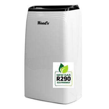 Woods mobiele luchtontvochtiger R290